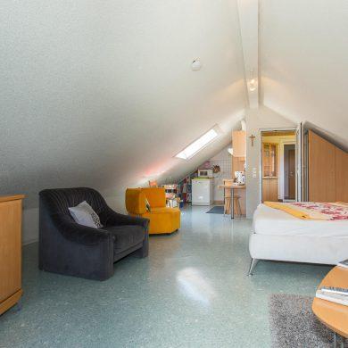 Wohn-Schlafzimmer Sternenhimmel